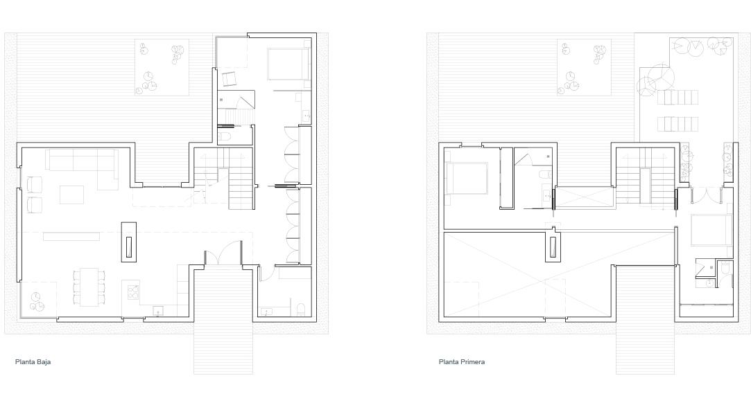 Planos de vivienda unifamiliar images - Viviendas unifamiliares planos ...